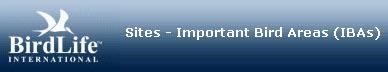 Sitio IBA de BirdLife International