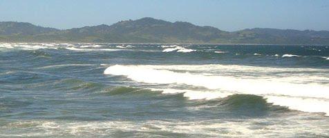 Olas en Mar Brava