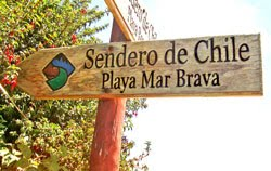 Sendero de Chile - Playa de Mar Brava