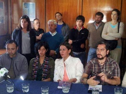 Conferencia de Prensa sobre el Parque Eólico Chiloé
