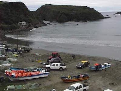 Puñihuil, playa cercana a Mar Brava