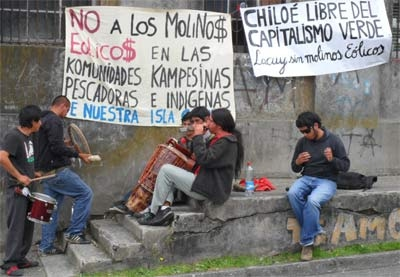Oposición al Parque Eólico Chiloé