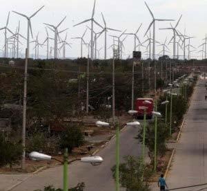 Parque eólico en Oaxaca