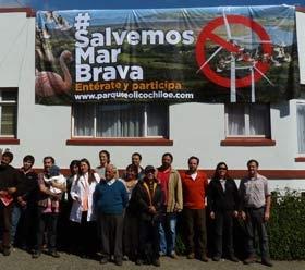 Campaña Salvemos Mar Brava (del Parque Eólico Chiloé)